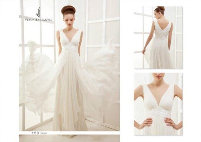 Robe de mariée Veronika Jeanvie - modèle Swan