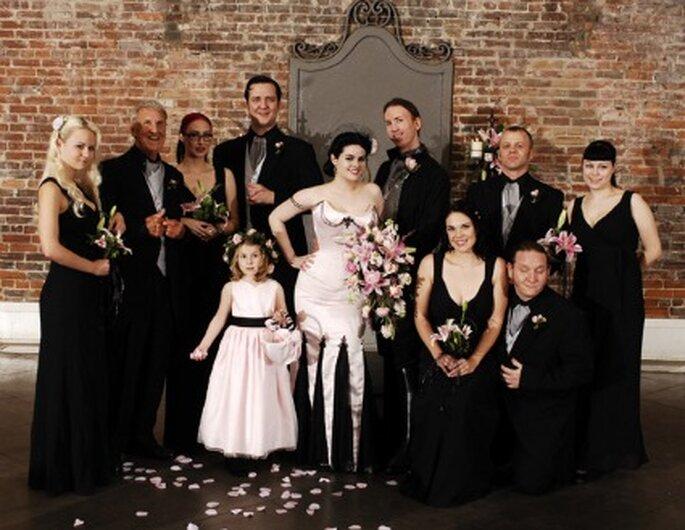 Mariage gothique - Weddingplans.livejournal.com