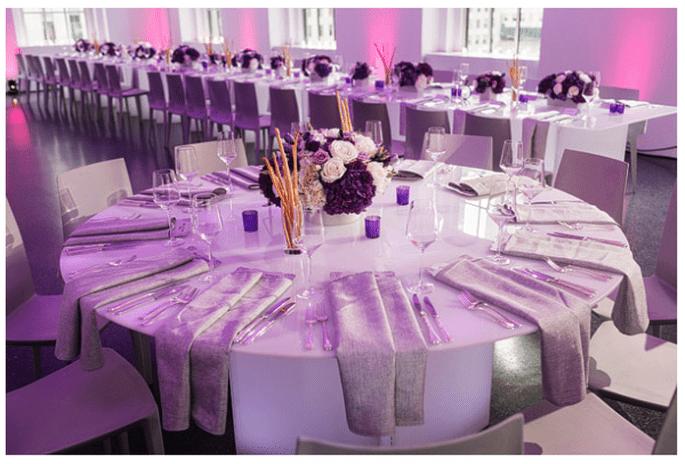 Décoration de mariage en orchidée radiante - Stak Photography Duo
