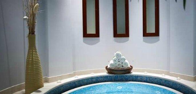 Auch von innen spektakulär: geniessen Sie Ihren Flitterwochen-Aufenthalt im Hilton Molina Stucky in Venedig.