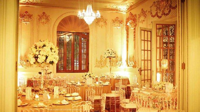 Mesas jantar casamento