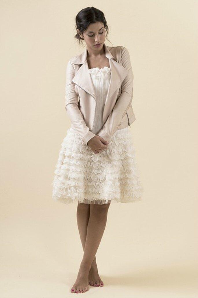 Robe de mariée sur mesure Steva Couture, modèle Rock