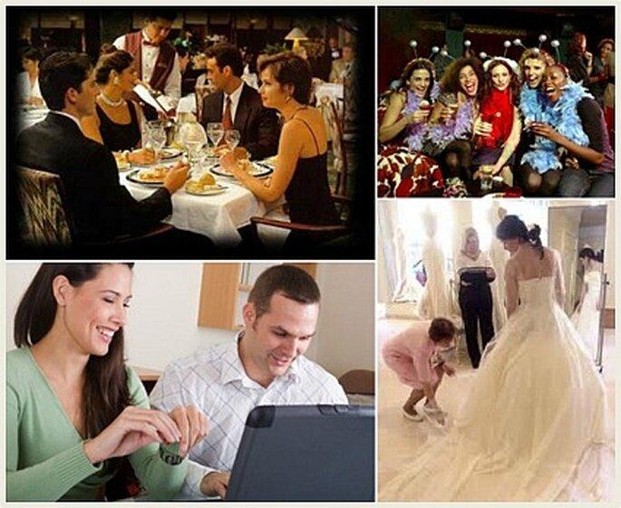 Anécdotas contadas través de imágenes en la boda