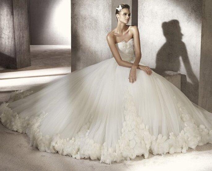 Vestidos de novia Manuel Mota para Pronovias 2012 - Prestigio