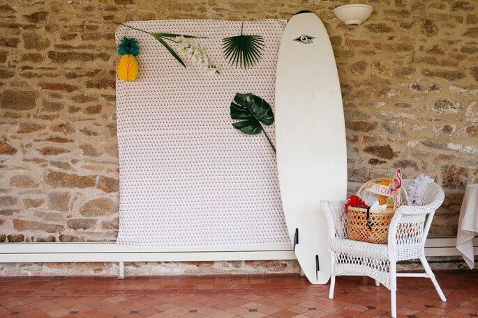 décoration thème voyage- mariage Bretagne morbihan