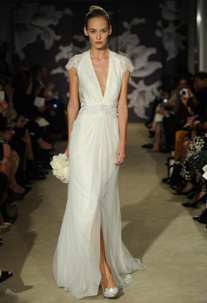 12 vestidos de novia que estarán de moda en 2015 - Carolina Herrera