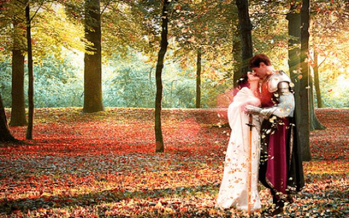 Quoi de plus romantique que de vous marier comme à l'époque des chevaliers?