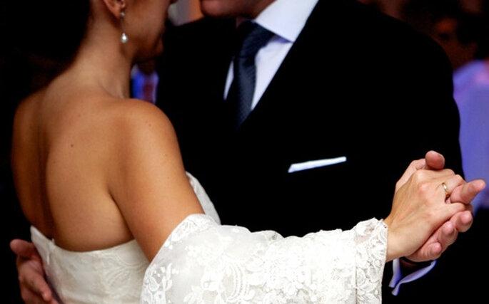 La valse d'ouverture à la soirée du mariage