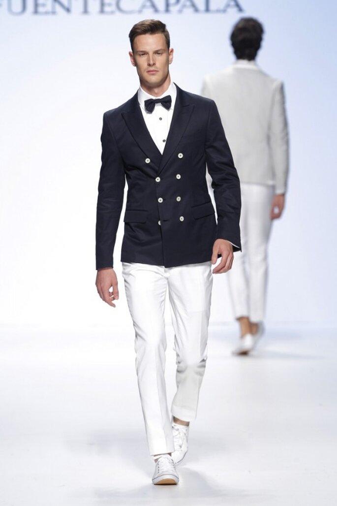 Tendencias en trajes de novio 2015 - Foto Fuentecapla