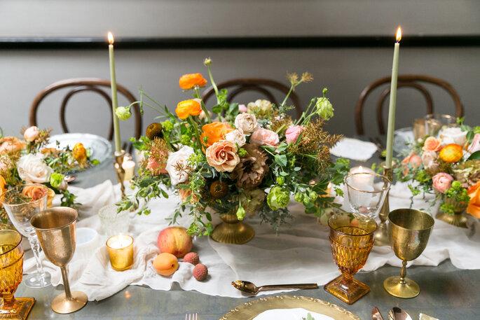 Foto: Agencia FVS; Diseño floral: María Limón Atelier Floral