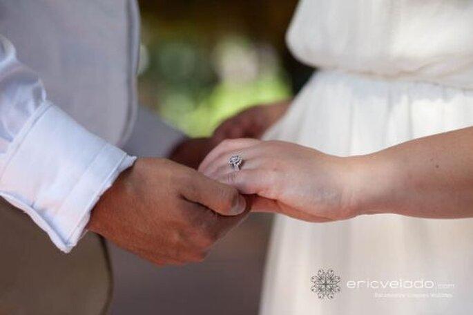 Mit einem Trauring besiegeln Sie den Bund der Ehe! Foto: Erci Velado