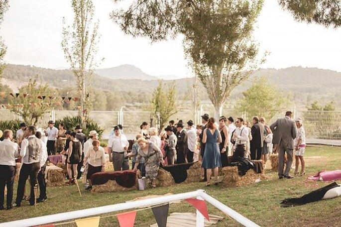 Rustikale Hochzeit, Foto: Sara Lobla