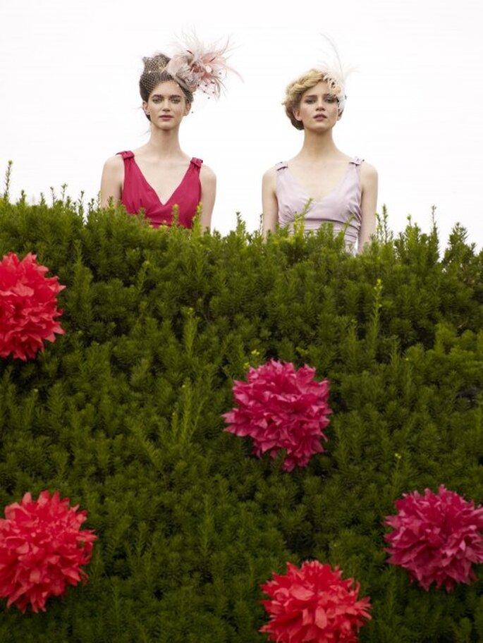 Farbenfrohe Kleider für die Brautjungfern – Foto: bhldn