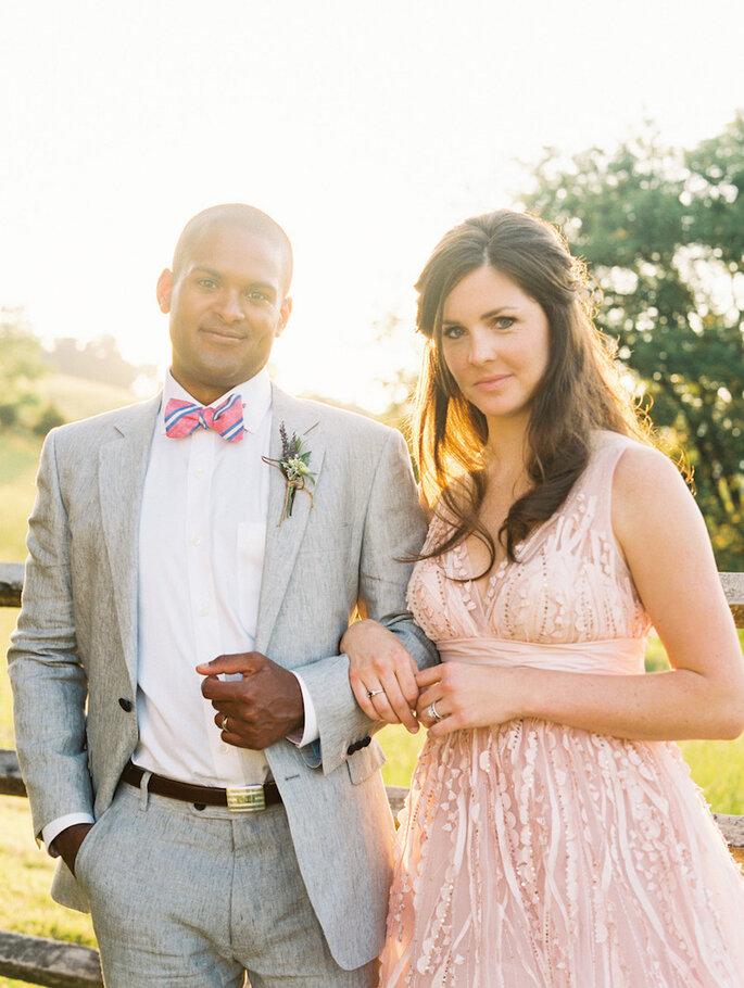 14 formas para combinar con tu novio el día de la boda - Katie Stoops Photography
