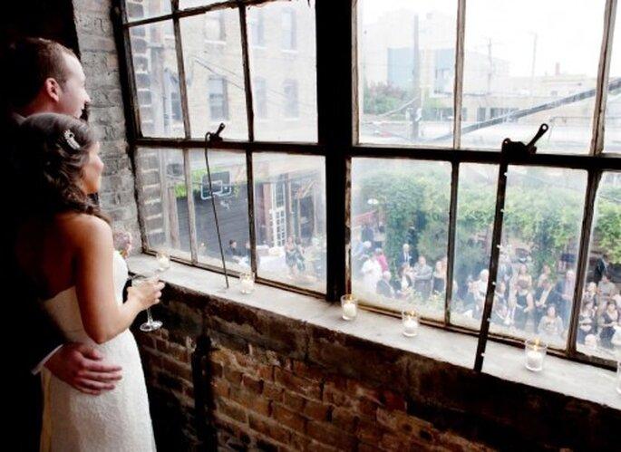 Decoración para boda. Foto de Jen Lynne.