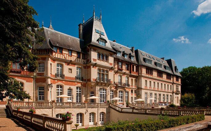 Le Château de Montvillargenne, lieu de réception dans l'Oise