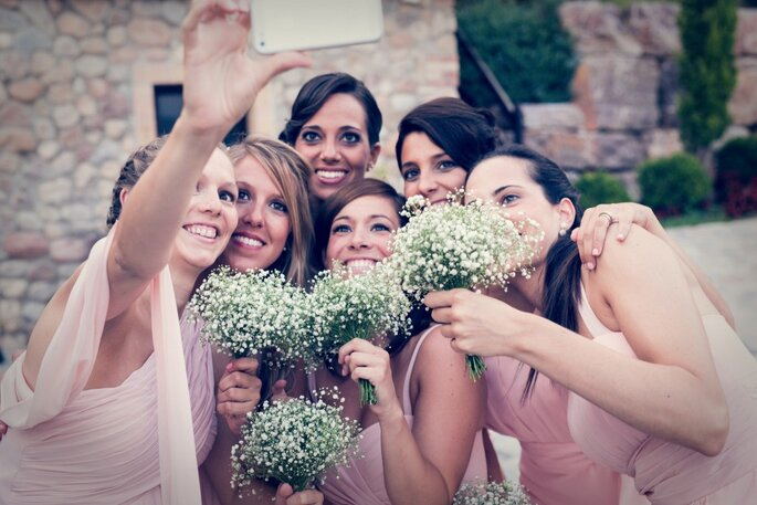 foto amigas boda community