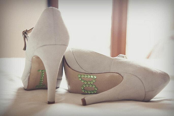 Adaptez vos chaussures à votre robe de mariée - Photo : 35 mm fotografos