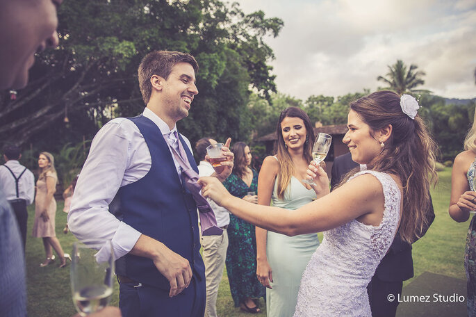 Brincadeira noivos