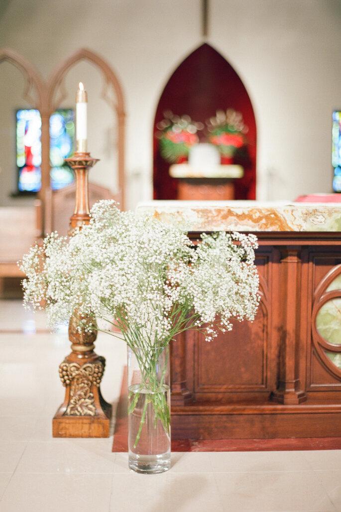 decoración de la iglesia - Brklyn View Photography