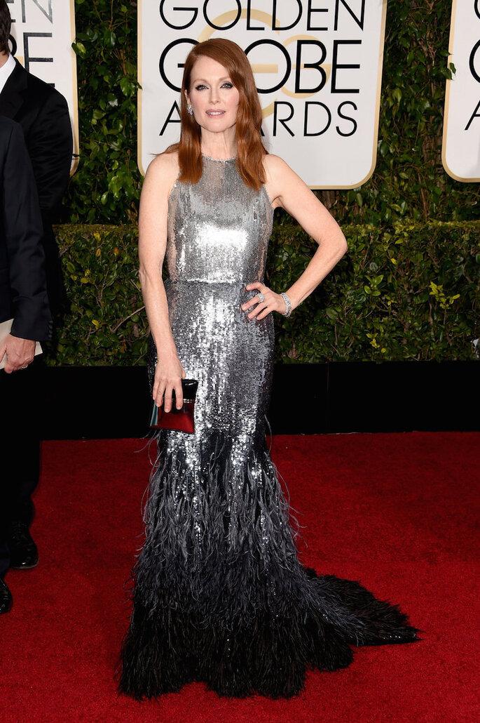 Las mejor vestidas de los Golden Globes Awards 2015 - Givenchy (Julianne Moore)