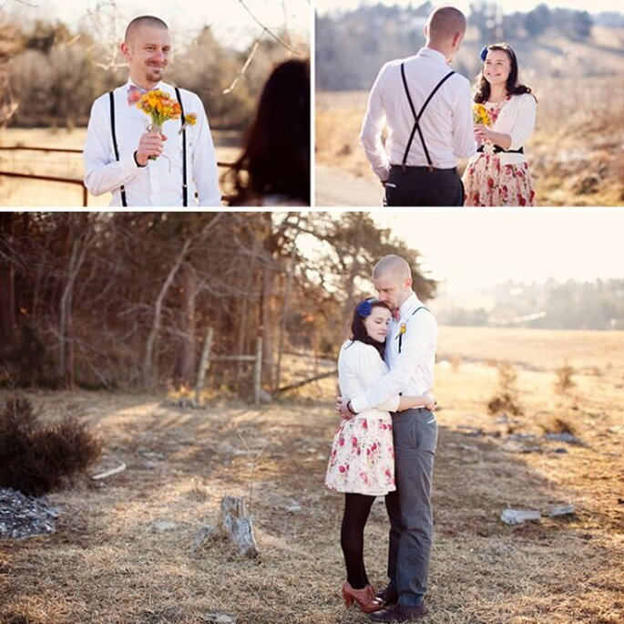 Sesión de fotos pre boda inspirada en San Valentín - Foto Jodi Miller Photography