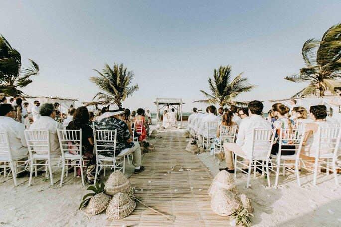 With You Weddings Boda en la playa