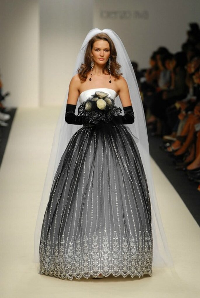 Black and white per la sposa di Lorenzo Riva