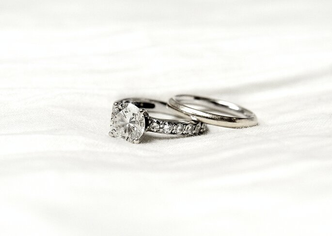 Trauringe, Verlobungsring