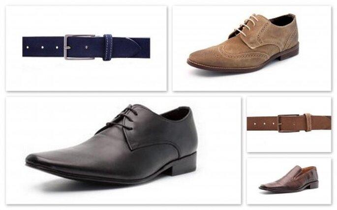 Moda en calzado para caballero. Foto del sitio de Brantano