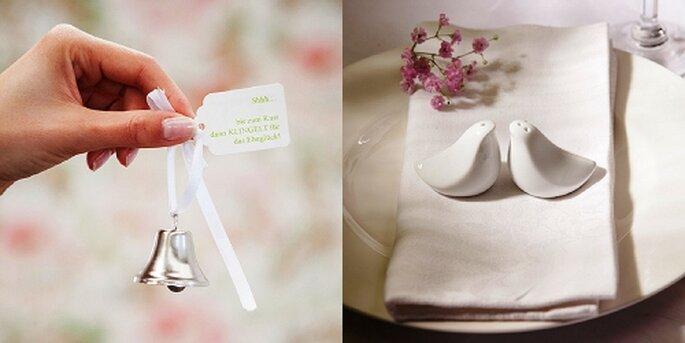 Hochzeitsglocken und Turteltauben, Foto: van harte
