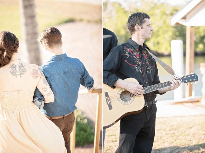 Real Wedding: Una boda ecléctica y vintage perfecta - Foto Glass Jar Photography