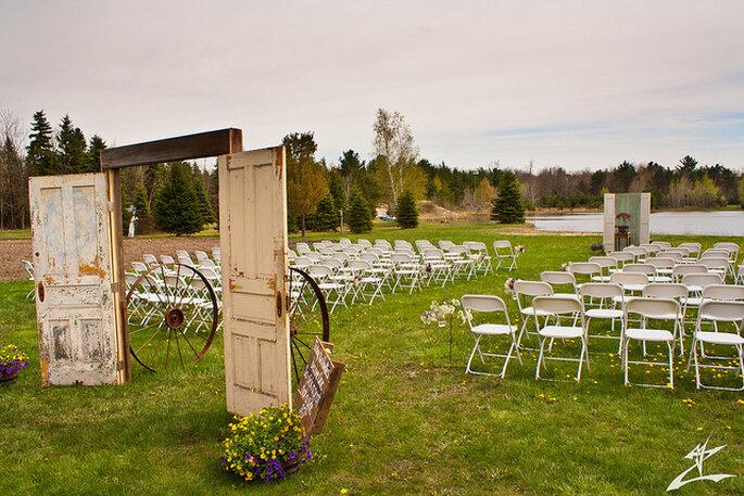 Matrimonio Rustico Como : Ideas para una boda de estilo rústico y chic al aire libre