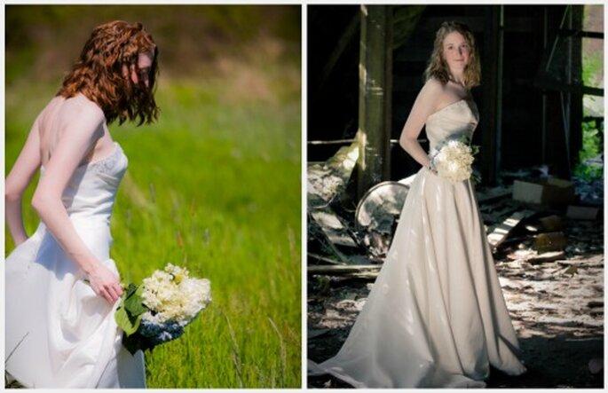 """Buscar entornos inusuales para """"romper"""" el vestido es la tendencia en todo el mundo.  Fotos: Flickr - Kelly Bailey"""