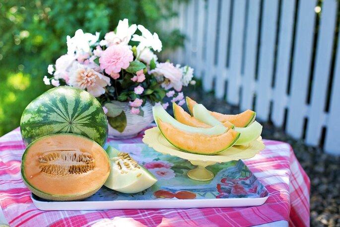 Melancia e melão. Foto: Pixabay