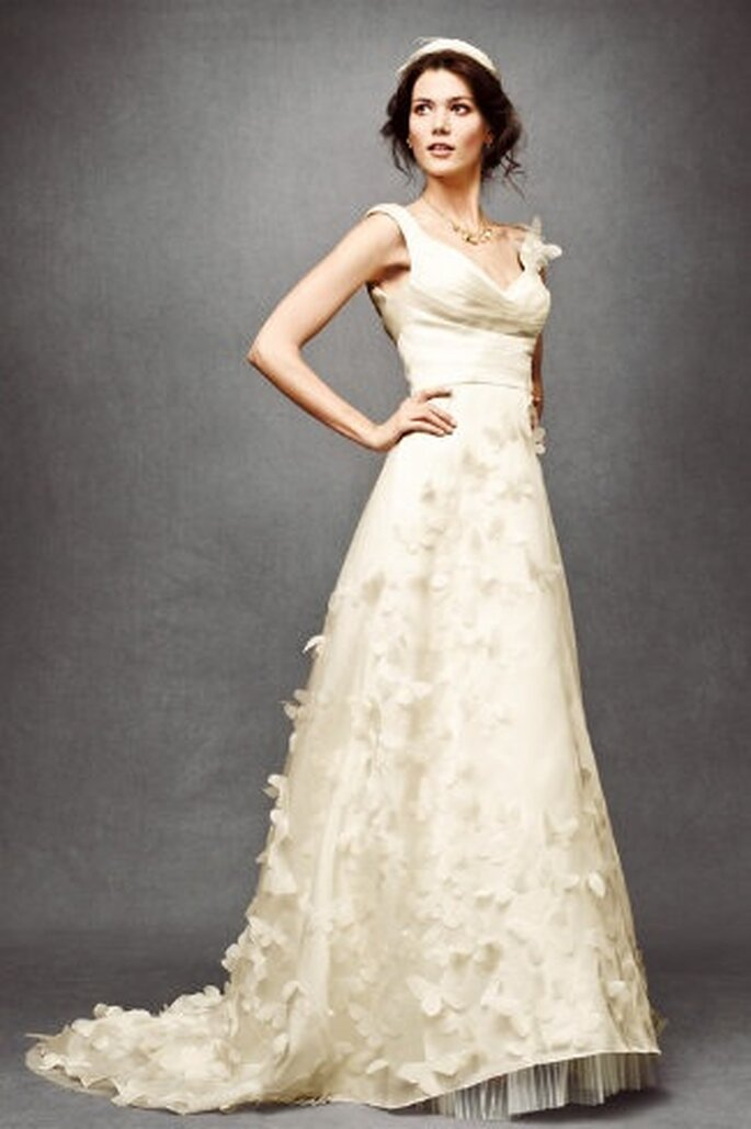 Wunderschone Brautkleider In Creme Und Champagner Farben