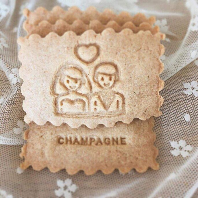 Des biscuits customisés à offrir en cadeau à vos invités