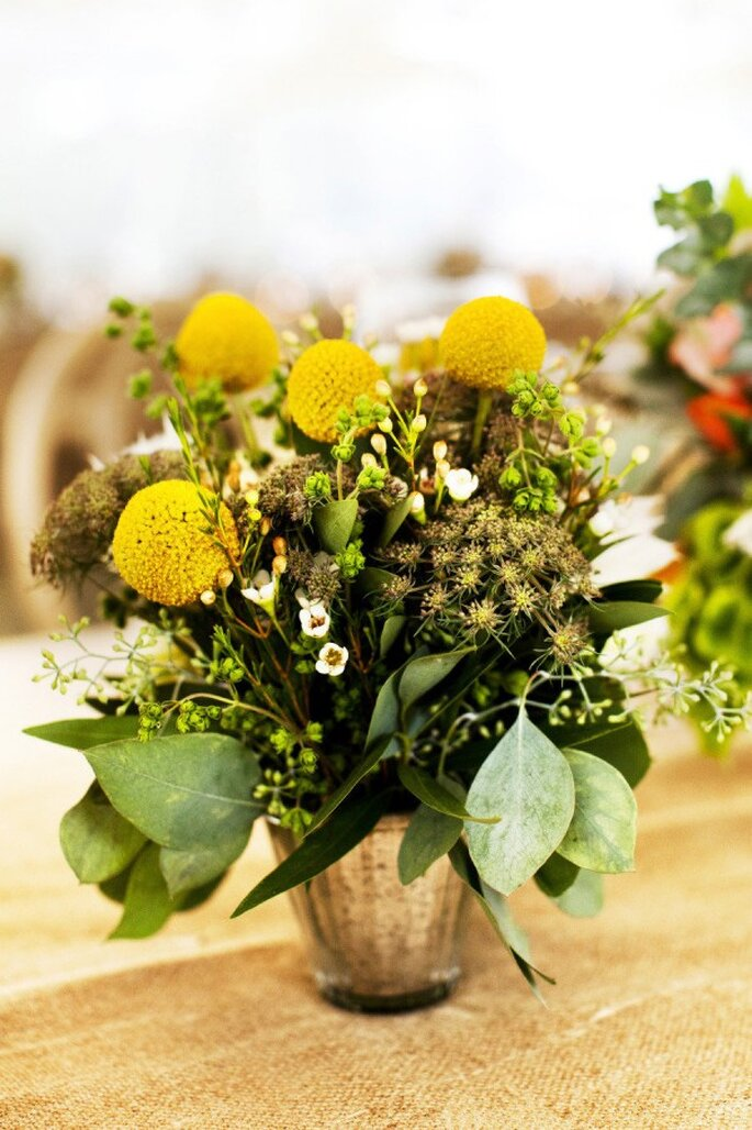 Los colores perfectos para decorar una boda en 2015 - Foto Andrew Weeks Photography