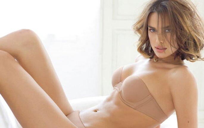 Un completo nude look di Intimissimi 2012
