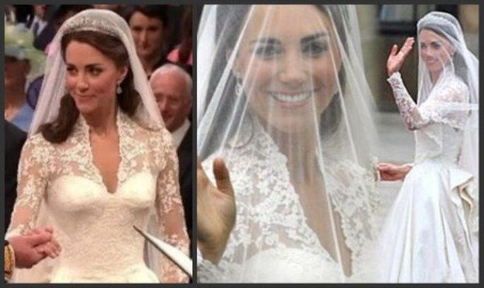 Maquillaje discreto resaltando la belleza de la novia