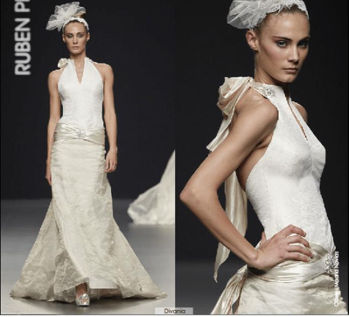 Vestido Divannia, colección 2012 Rubén Perlotti