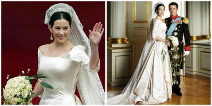 Brautkleid Mary Donaldson von Dänemark