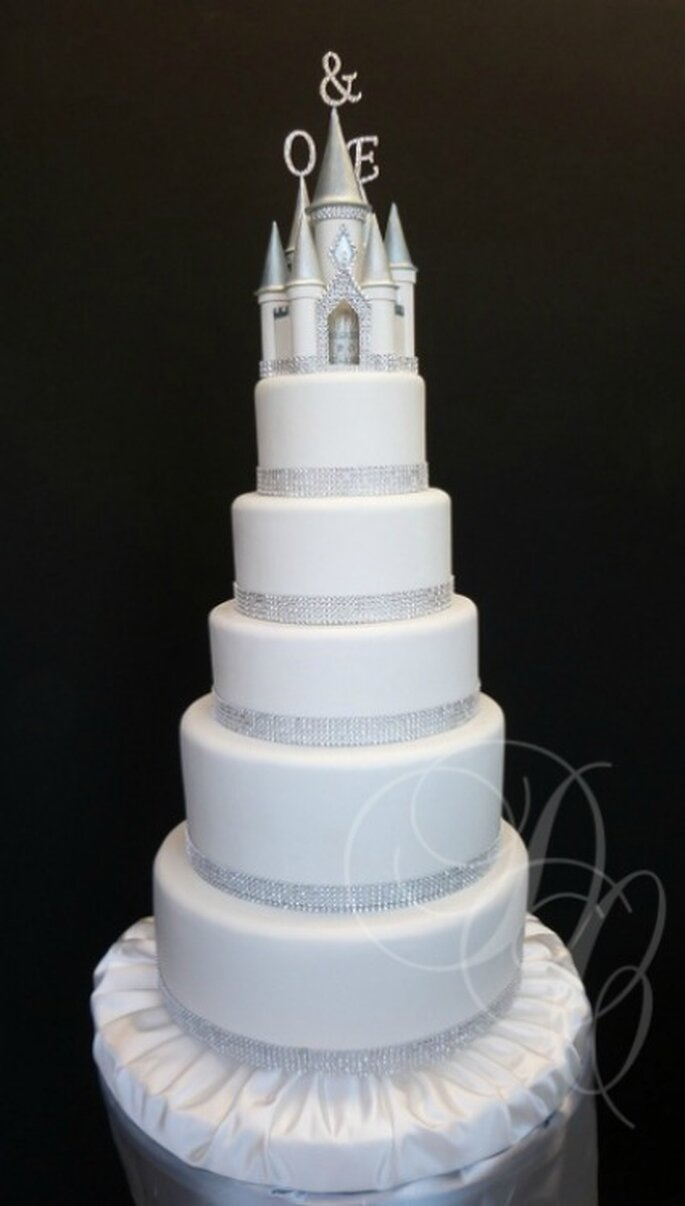 Un dessert de mariage digne d'un conte de fée ! - Design and Cakes