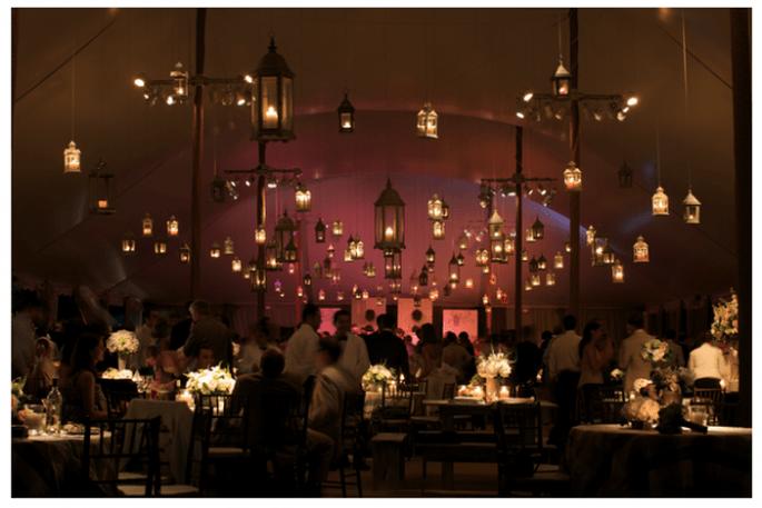 Tendencias en iluminación para bodas 2014 - Foto Lynne Brubaker