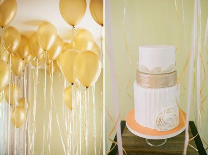 Tendencia en tortas de boda - Green Wedding Shoes