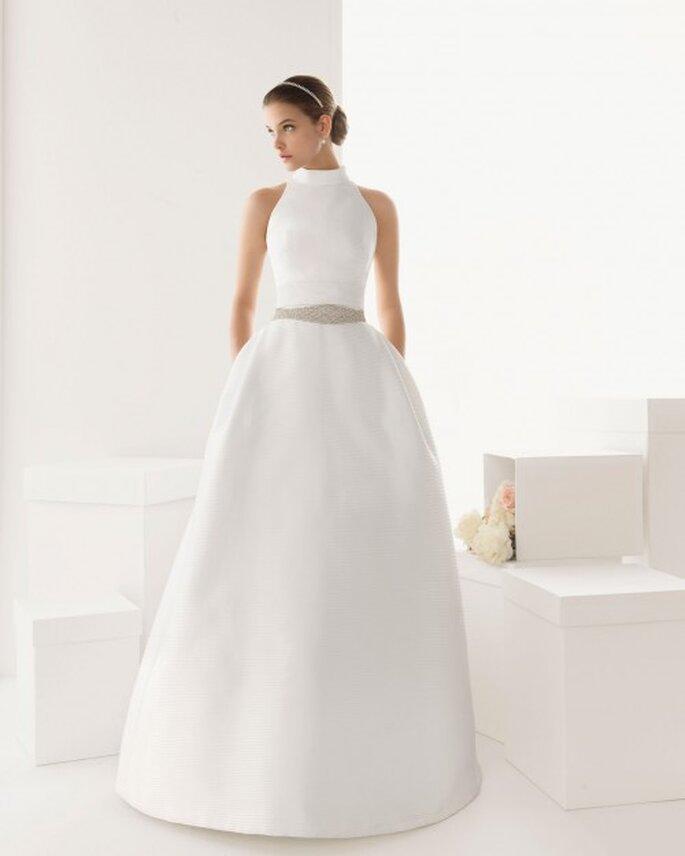 Es müssen aber nicht nur Langarm-Brautkleider für eine Winterhochzeit sein – Foto: rosa clara