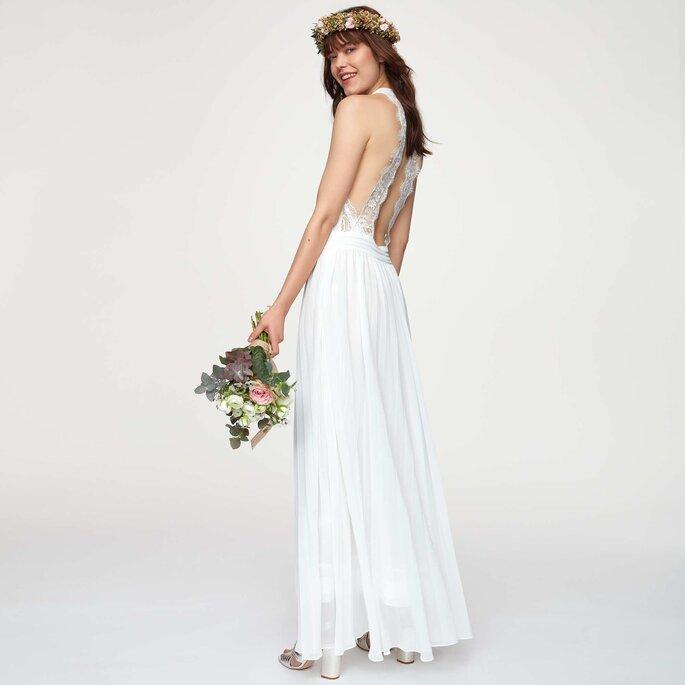símbolo su un de y floral dulce presenta vestido Kiabi bonito un novia con precio sCthQrd