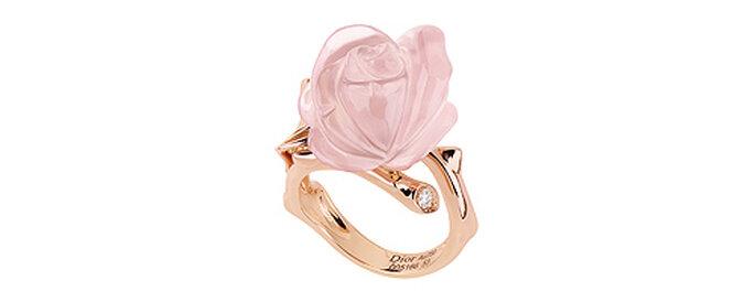 Oro y cuarzo rosa, de Dior