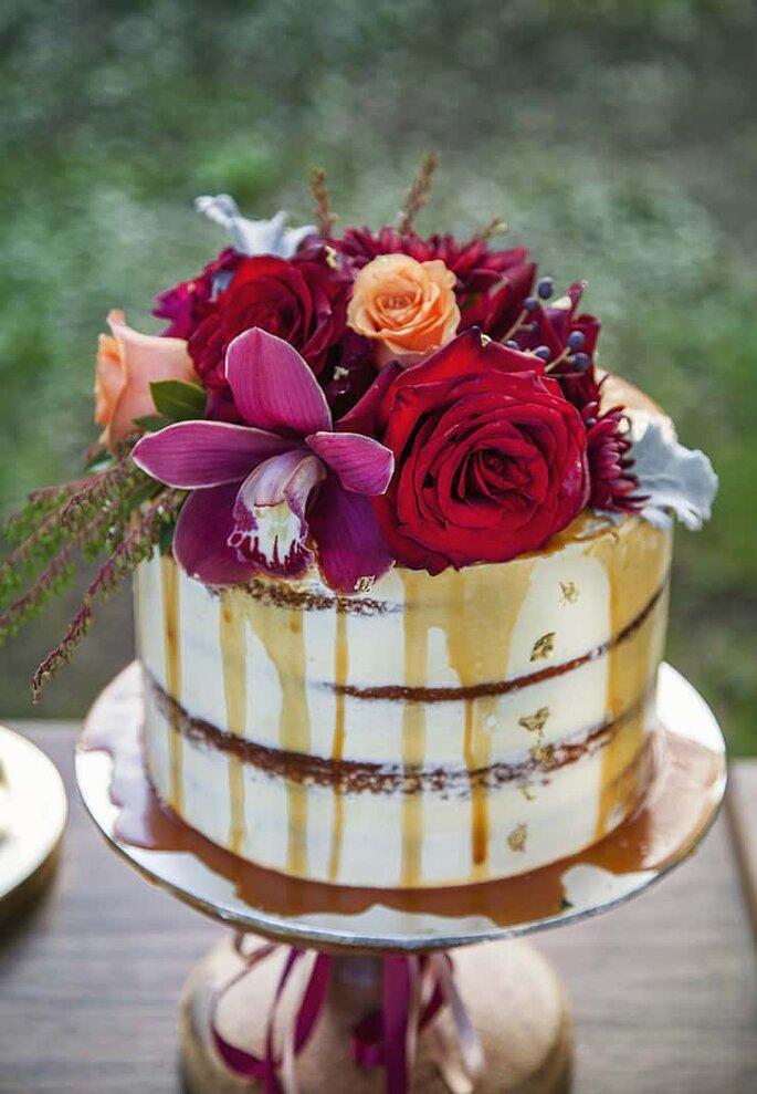 torta nuziale drip cake