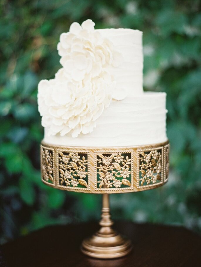 Mini pasteles de boda para tu banquete - Foto Erich McVey